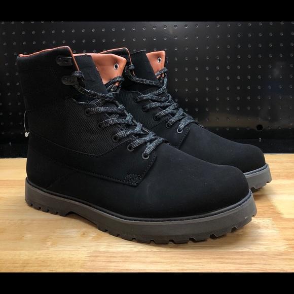146a6b036d4 DC Shoes Uncas Lace Up Boots Black sz 13 NWT